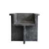 brutus dining chair grey