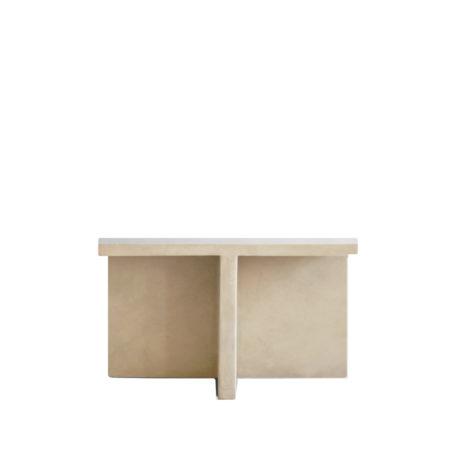 brutus fiber table white